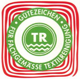 Gütezeichen für Textilreinigung